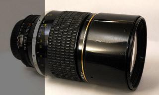 Nikon AI-S 180mm 2,8 ED