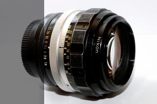 Nikon F 85mm 1,8 HC