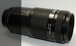 Nikon AF 70-210mm 4,0-5,6