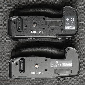 MB-D18 vs. MB-D17