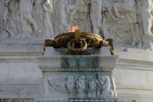 Rome, Italy. Part of Vittore Emanuel Monument